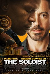 Poster The Soloist Jamie Foxx Robert Downey Jr.