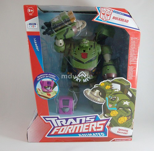 Transformers Bulkhead Animated Leader - caja (by mdverde)