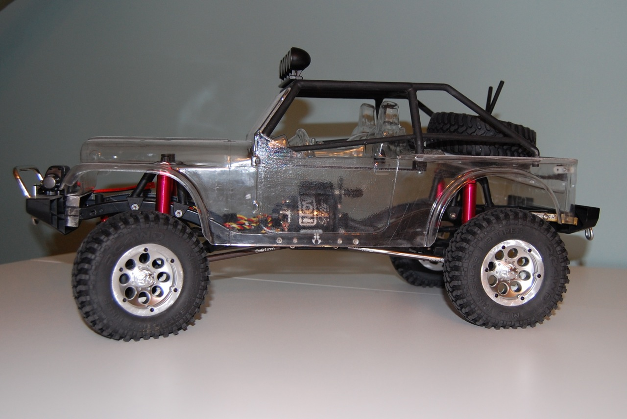 Jeep Cj 8 Scrambler With New Scx10 New Pictures Parts