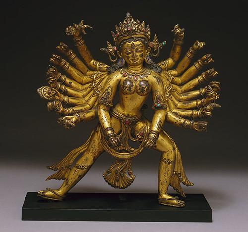 017-La Diosa Durga-siglos 14 al 15-Nepal- Copyrigth © 2000-2009 The Metropolitan Museum of Art