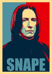SNAPE (Sebastian Niedlich (Grabthar)) Tags: photoshop manipulated poster photoshopped harrypotter manipulation actor manip hogwarts obama shepardfairey snape photoshopping jkrowling alanrickman joannekrowling severussnape grabthar sebastianniedlich freakingnews