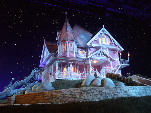 Coraline premiere - the house set at the after-party