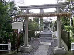 水神社の祠。