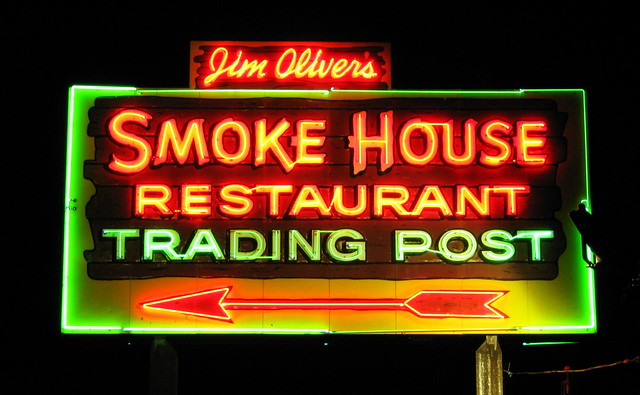 Smoke House neon Sign