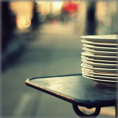 cafe rituals (Maureen F.) Tags: street sun table cafe bokeh plates lateday 500x500 photographia infinestyle artlibres mondocafeclub winner500 winner500x500bestof