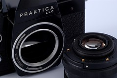 Pentacon Praktica LLC (Andrys Stienstra) Tags: camera slr ddr pentacon praktica gdr eastgermany spiegelreflex mycameracollection cameracollecting
