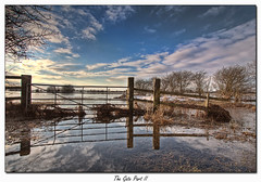 The Gate Part II (Grezmel) Tags: canon gate flood 1022mm welney cambs eos50d aplusphoto