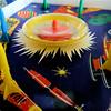 Space spinning top // Toupie de l'espace