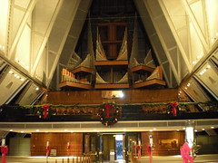 The Organ in the Air Force Chappel