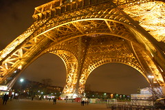 Eiffel Tower Closeup