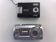 canon powershot unboxing a470