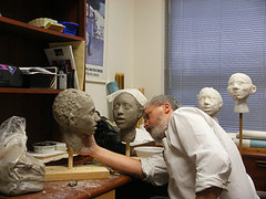 """Step 11 - Making Face Casts for """"Marie"""" (Houston Ballet) Tags: ballet marie dance theater arts culture houston cast tomboyd production marieantoinette props beheading guillotine brianwalker houstonballet jessicacollado stantonwelch kellymyernick"""