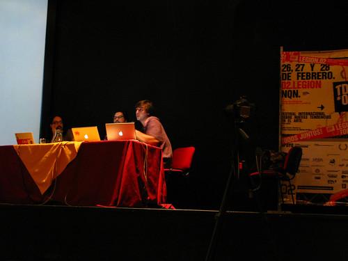 Charla livecinema en MNBA de Neuquen