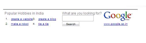 Google India Ad