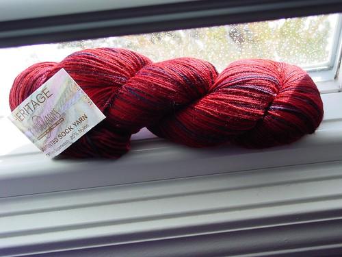 Cascade Heritage Handpaint sock yarn