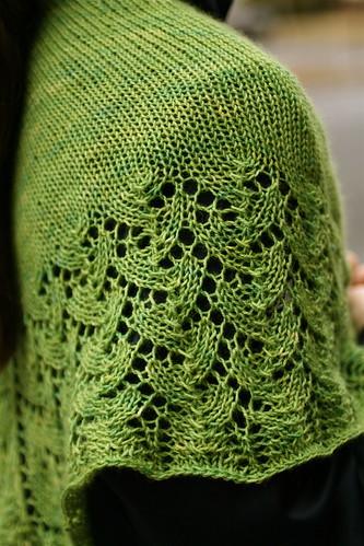 Ishbel in Hazel Knits 'Euphorbia'