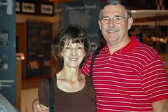 mom and dad at uso show