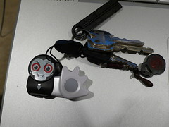 photo of Poken. The electronic business card
