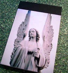 Impressive Wings Notepad (chicalookate) Tags: paper crafty notepad