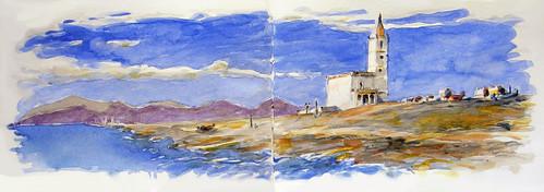 Cabo de Gata - Iglesia de las Salinas