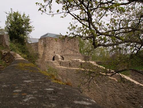 verfallene Mauern