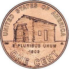 Lincoln Cent cabin design