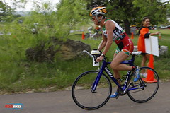 Sharon Sander races bicycles and does triathlons! Photo: Kevin G Saunders
