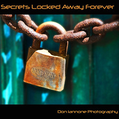 Secrets Locked Away Forever (Don Iannone) Tags: ohio cemetery graveyard spring flickr cleveland explore frontpage springtime lakeviewcemetery april2009 doniannone oldpadlock doniannonephotography rustedlockandchain chainongrave emdkaypadlock chainoncrypt