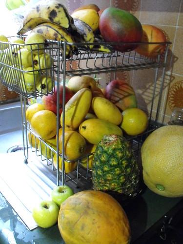 Oh benditas frutas amarillas