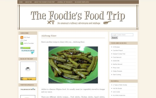 The Foodie's Food Trip