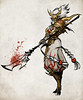 dragon_warrior_by_sandara (Paulos Varrus) Tags: male fighter elf human warlord paladin cleric glaive polearm genasi
