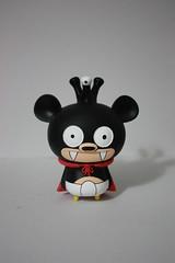 Bossy Nibbler (WuzOne) Tags: vinyl kidrobot futurama custom cartoons dunny fatcap munny artoy nibblr bossybear wuzone