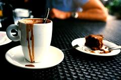 Hot Chocolate, Privé Bakery Café, Keppel Island