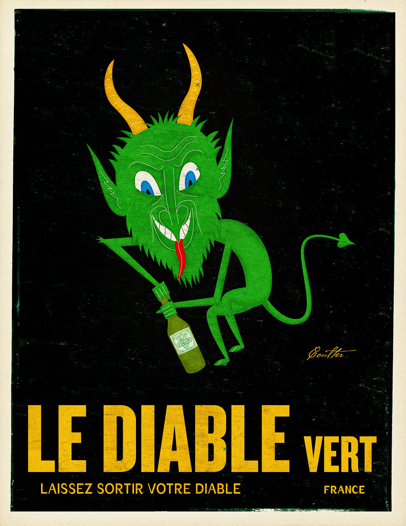 Le Diable Vert closeup