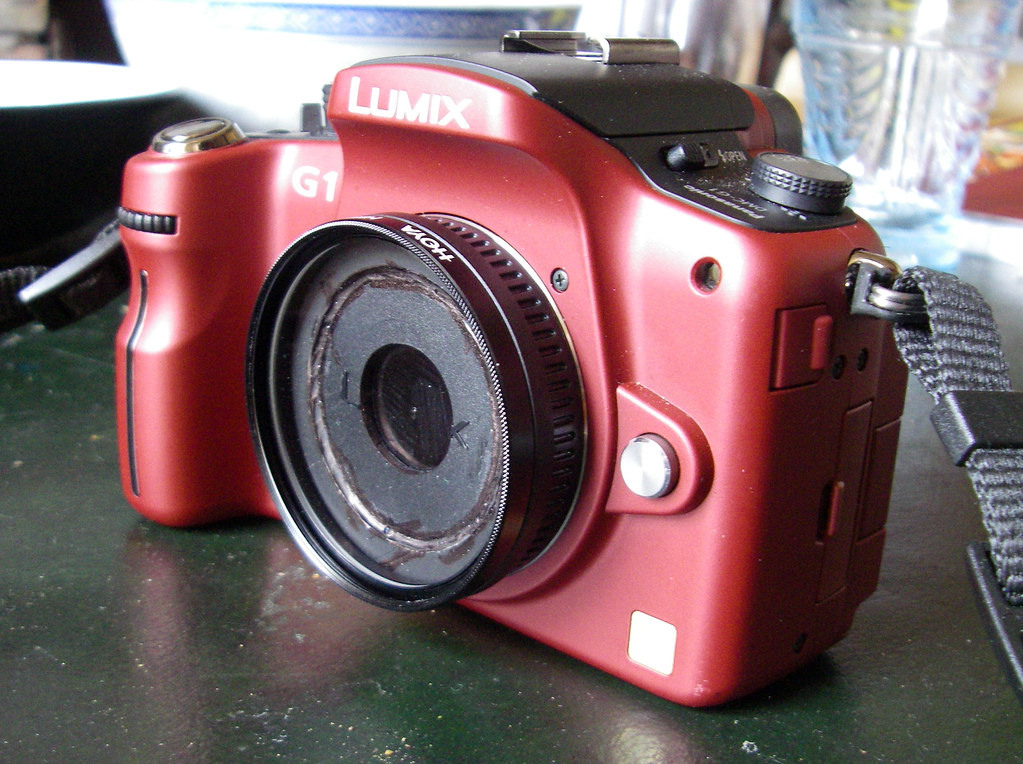 Lumix G1 With Pinhole Lens 1