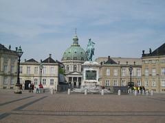 Le palais d'Amalienborg