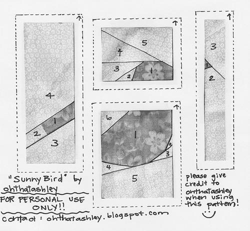 sunny bird pattern