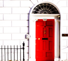 Red door (Steve-h) Tags: door red white black art tourism beautiful beauty wall architecture design europe plate tourists finepix georgian fujifilm recreation letterbox brass railings aerlingus doorknocker 38 fanlight steveh explorefrontpage explore29 s100fs mygearandmepremium mygearandmebronze mygearandmesilver mygearandmegold mygearandmeplatinum mygearandmediamond rememberthatmomentlevel4 rememberthatmomentlevel1 rememberthatmomentlevel2 rememberthatmomentlevel3