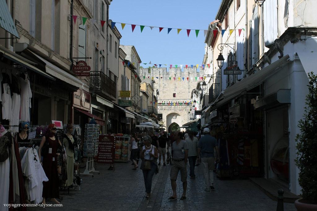 Cest la rue la plus touristique de la ville
