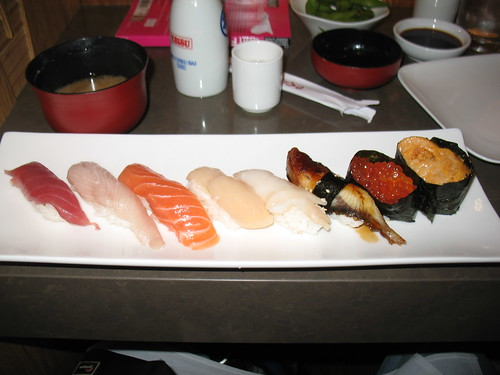 Ebisu - Deluxe Sushi - Sushi Portion