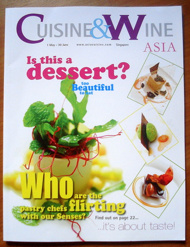 Cuisine & Wine Asia (May-June 2009 issue)