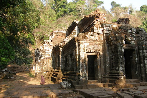 031.Wat Phu Champasak的主殿