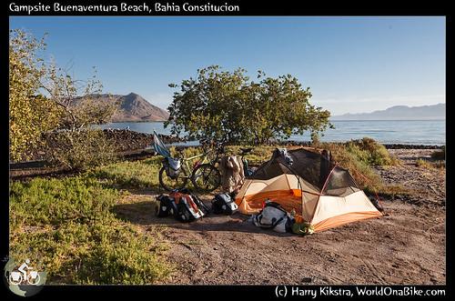 Campsite Buenaventura Beach, Bahia Constitucion