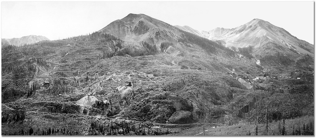 Red Mountain Panorama, CW Cross, 1900