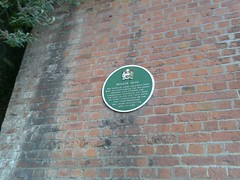 Photo of Marie Ashworth green plaque