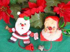 Santa's a Stickler (raining rita) Tags: santa christmas decorations pins
