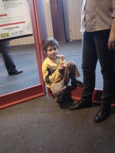 El participante más joven de la Xi Reunión de la REDPOP- Montevideo, Uruguay
