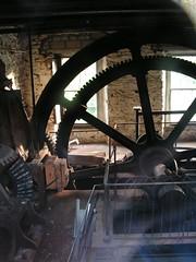 Fly Picture (fingeronthebutton) Tags: heritage mill scotland industrial perthshire victorian gears flywheel blairgowrie keathbankmill keathbank kiethbankmill
