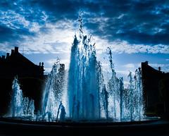 Fountain at Amalienborg, Copenhagen