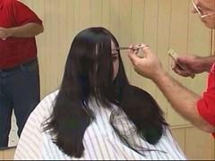 headshave - 2009-06-02_113310 (bob cut) Tags: ladies haircut sexy girl happy bald shave razor headshave